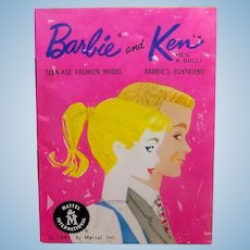 Vintage Mattel 1962 Barbie Doll Fashion Booklet