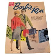 Vintage 1962 Dell Comics Barbie & Ken Issue #2 Comic Book