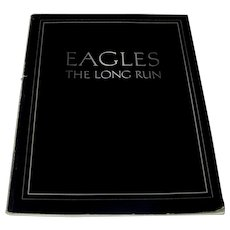 Vintage 1980 Eagles Music Book The Long Run