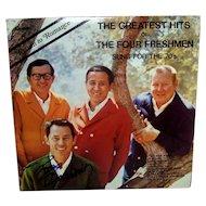 Vintage Autographed 1970 33 ⅓ RPM RCA Records Of Four Freshmen Singing Group