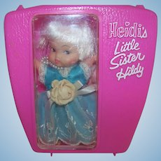 Vintage !965 NOS Remco Pocketbook Doll Hildi