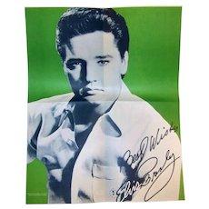 Vintage 1977 Elvis Presley Christmas Songbook & Poster