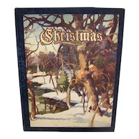 Vintage Illustrated 1952 Christmas: An American Annual Of Christmas Literature And Art Hardback Book
