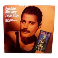 Vintage 1984 45 RPM Freddy Mercury Record