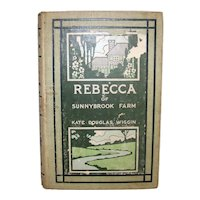 Antique 1903 Rebecca Of Sunnybrook Farm Hardback Book