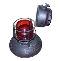 Vintage Northern States Power Company Dietz Hand Oil Lamp