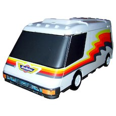 Vintage 1991 Micro Machines Super Van City RV Playset