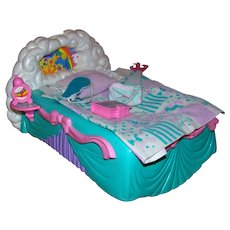 Vintage Hasbro Toys 1989 My Little Pony Rock-A-Bye-Bed Bed Play Set