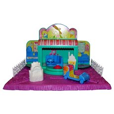 Vintage Hasbro Toys 1989 G1 My Little Pony Petite Ponies Twinkle Treats Playset
