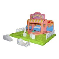 Vintage Hasbro Toys 1989 G1 My Little Pony Happy Hoof Market Playset