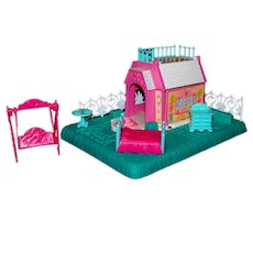 Vintage Hasbro Toys 1989 G1 My Little Pony Petite Pony Home Whinny Winks Inn Playset