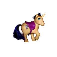 Vintage 1983 G1 My Little Pony Unicorn Glory Shooting Star Toy Pony