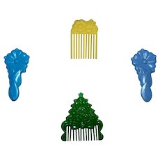 Vintage My Little Pony G1 Assorted Combs