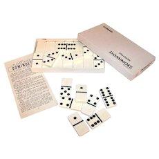 Vintage #616 Puremco Standard Domino Set