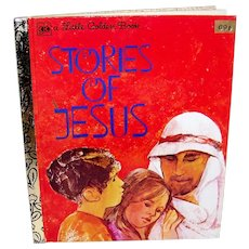 Vintage 1979 A Little Golden Book Stories Of Jesus