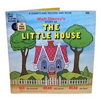 Vintage 1970 Walt Disney See Hear Read The Little House Children's Book