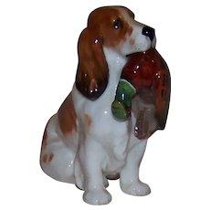 Vintage Royal Doulton English Cocker Spaniel Porcelain Figurine