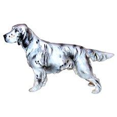 Vintage Royal Doulton Large Porcelain English Pointing Setter Dog Figurine