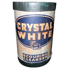 Vintage Crystal White Scouring Cleanser by Peet