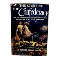 Vintage Robert Self Henry Book The Story Of The Confederacy