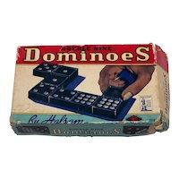 Vintage Halsam World War II Wartime Domino Set