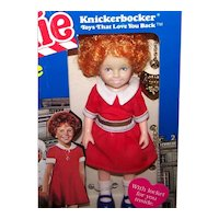 Vintage 1982 Knickerbocker Annie Toy Doll