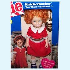 Vintage 1982 Knickerbocker Annie Toy Doll
