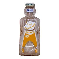 Vintage 1953 Galaxy Home Soda Syrup Interplanetary Commander Glass Coin Still Bank