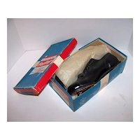 Vintage 1950's NOS Rawlings Fleetfoot Boys Leather Baseball Cleats