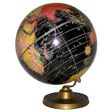 Vintage 1948 Cram's Universal Terrestrial World Globe