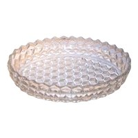 Vintage Fostoria American Clear Floating Garden Bowl
