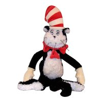 Vintage 2000 Dr. Seuss Cat In The Hat Plush Toy