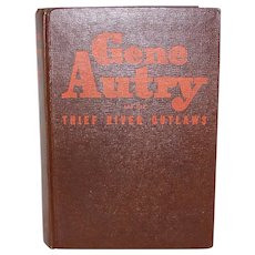 Vintage 1944 First Edition Gene Autry Hardback Book