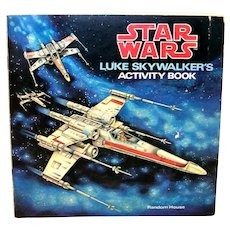 Vintage 1979 Star Wars Luke Skywalker Activity Book