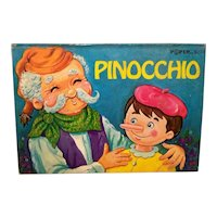 Vintage 1974 Modern Promotions Hardback Pop-Up Book Pinocchio
