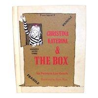 Vintage 1971 First Edition Weekly Reader Hardback Book Christina Katerina & The Box