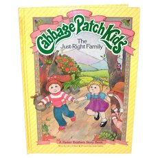 Vintage 1984 First Edition Cabbage Patch Kids Hardback Children's Story Book