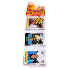 Vintage 1986 Topps Baseball Unopened Rack Pack