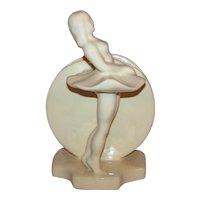 Vintage 1940's Art Deco Royal Haeger Ceramic Ballerina Vase