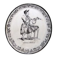 Vintage Mottahedeh Design Ceramic Wall Plaque