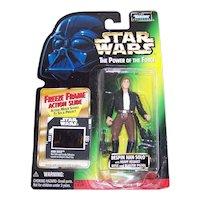 Vintage 1997 Kenner Star Wars Bespin Han Solo POTF Figurine