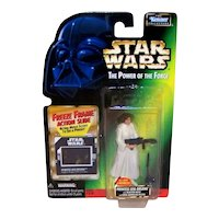 Vintage 1997 Kenner Star Wars Princess Leia Organa POTF Figurine