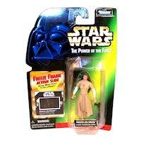 Vintage 1997 Kenner Star Wars Princess Leia Organo POTF Figurine