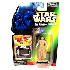 Vintage 1997 Kenner Star Wars Princess Leia Organo POTF Figurine