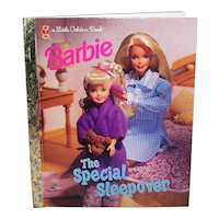 Vintage Children's 1997 First Edition Barbie Hardback Golden Book