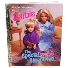 Vintage Children's 1997 First Edition Barbie Hardback Golden Book