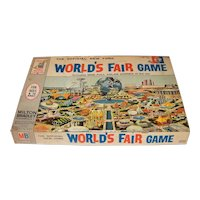 Vintage 1964 Milton Bradley New Old Stock Unused  World's Fair Board Game