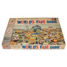 Vintage 1964 Milton Bradley New Old Stock Unused  World's Fair Board Game