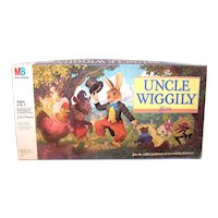 Vintage Milton Bradley 1980 Uncle Wiggly Board Game