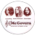 Vintage 1972 McGovern Political Benefit Concert Pin Back Button